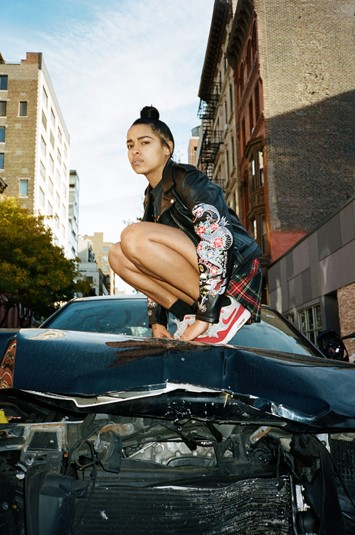 Princess Nokia for MadeMe x Schott