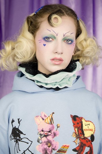 Blue Roses Edward Meadham Dazed