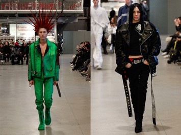 The 'punk' and 'emo' at Vetements AW17