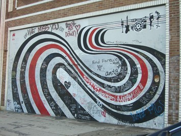 Elliott Smith Wall