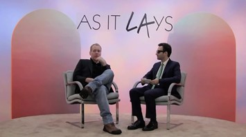 Bret Easton Ellis and Alex Israel
