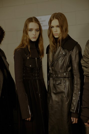 Diesel Black Gold AW17 womenswear milan mfw dazed