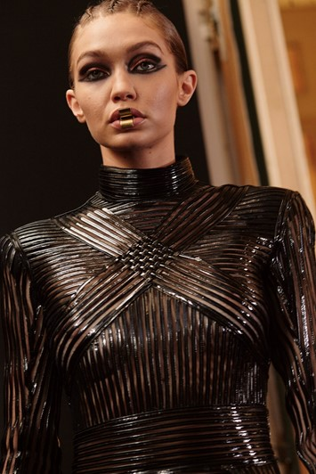 Balmain AW17 womenswear paris dazed