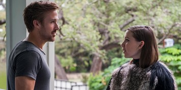 Ryan Gosling and Lykke Li in Song to Song