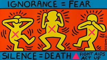 MKG_KeithHaring_Ignorance_Fear_Silence_Death_Fight