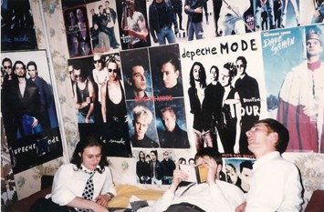 Depeche Mode fans on Dave Day