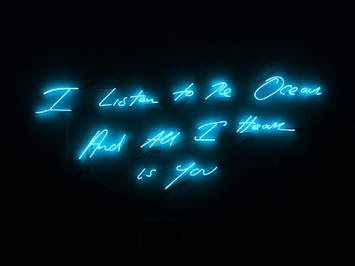 Tracey Emin I Listen to the Ocean and All