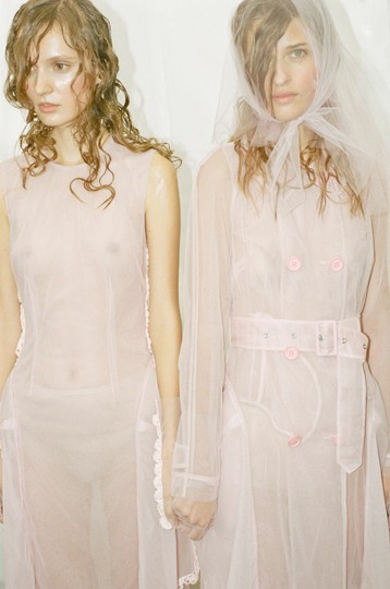 Simone Rocha SS15, womenswear, Dazed backstage
