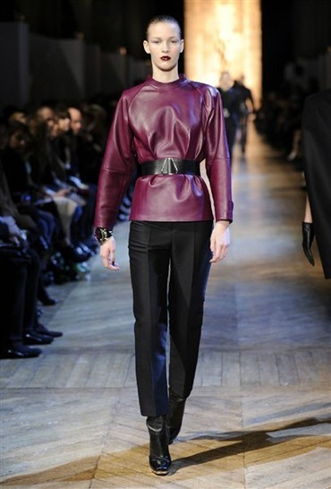 Yves Saint Laurent Womenswear AW12