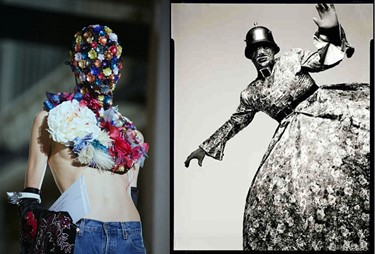 leigh bowery - floral