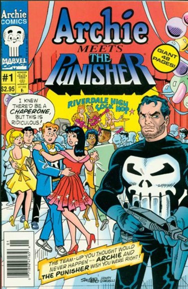 Archie meets the Punisher
