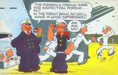 P is for Popeye