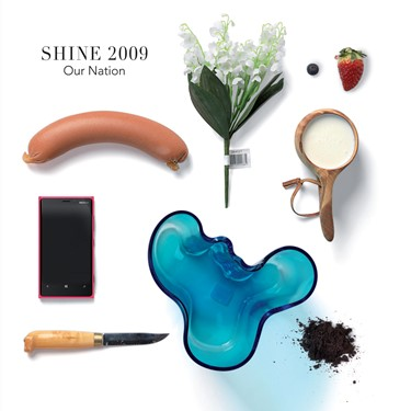 Shine 2009 - Our Nation - Artwork