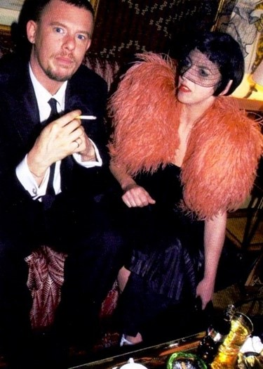 Isabella Blow and Lee McQueen