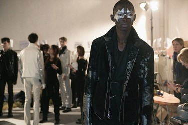 Backstage at John Varvatos AW14