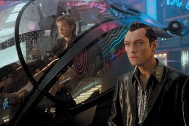 7 - in A.I., sex takes the form of gigolo joe
