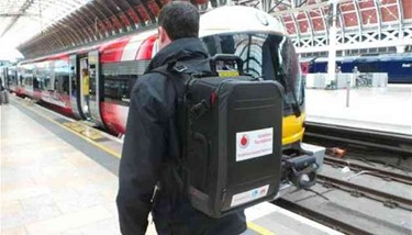 2 - Vodafone's new Instant Network Mini backpack a