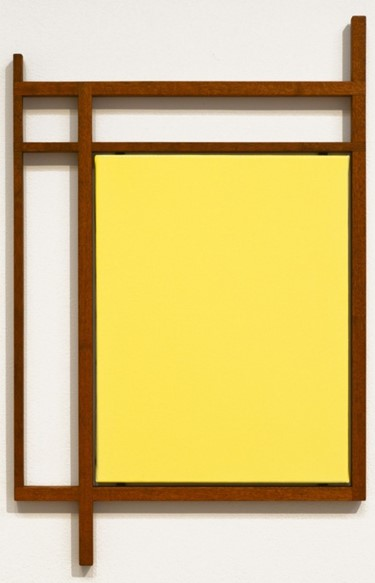 Untitled, Oil on Canvas with Mahogany Artists Frame (2013)