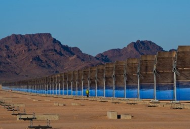 2) Solana, the largest concentrated solar plant of