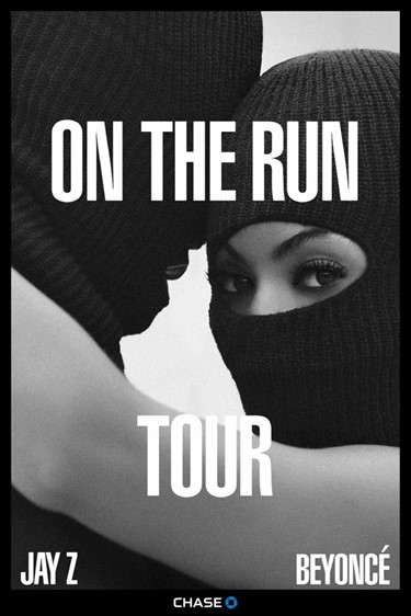 beyonce jay z on the run
