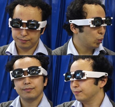 7) Dr. Hirotaka Osawa's 'wearable eyes'