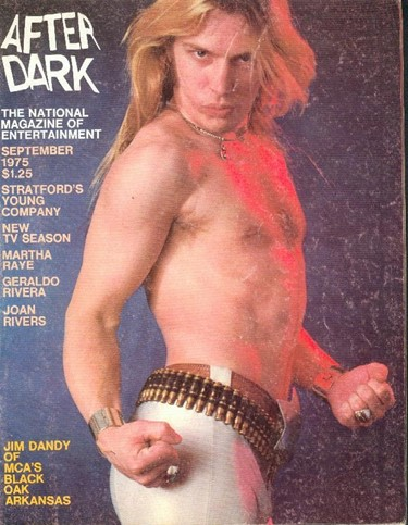 After Dark Sept 1975 Dazed LC:M's soft porn pin ups