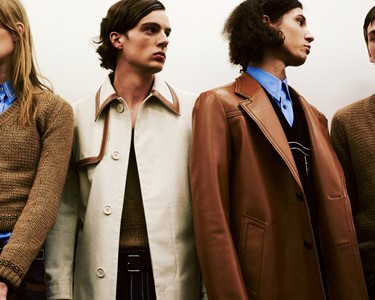 Prada SS15 Mens collections, Dazed backstage