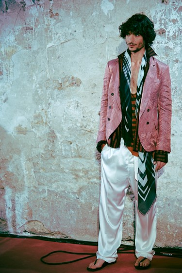 Haider Ackermann SS15 in Paris Dazed