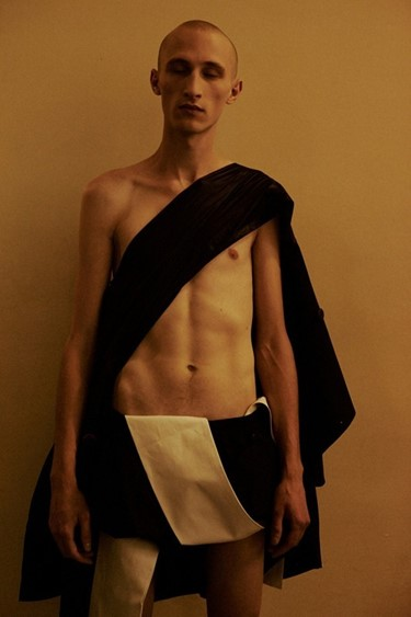 Backstage at Rick Owens SS15, Dazed