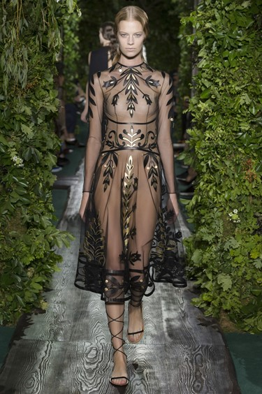 Valentino Haute Couture AW14 in Paris Susie Bubble