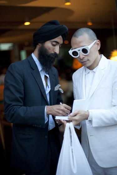 Waris Ahluwalia & Terence Koh. Shot by David Benne