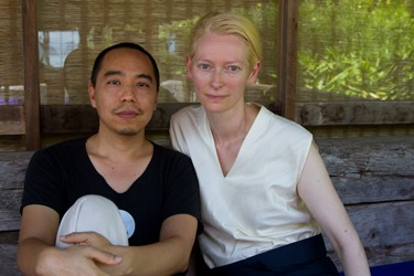 Tilda Swinton and Apichatpong Weerasethakul