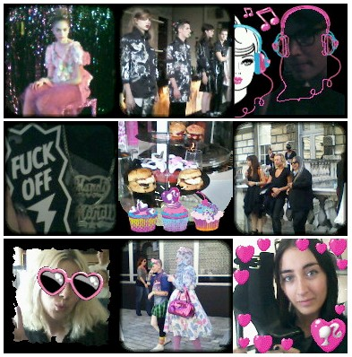 Photo Fashion Barbie's highlights from London day