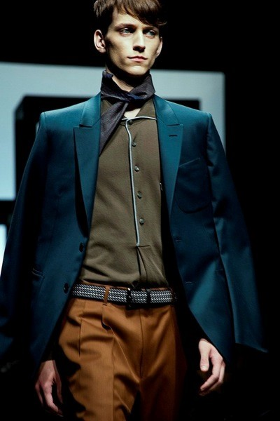 Ermenegildo Zegna SS15 Mens collections, Dazed backstage