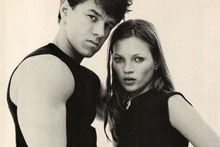 Kate Moss and Mark 'Marky Mark' Wahlberg for Calvin Klein