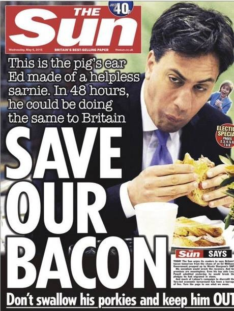 The Sun's Miliband front page