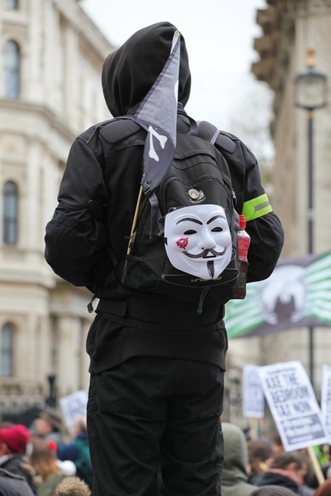 anonymous protes