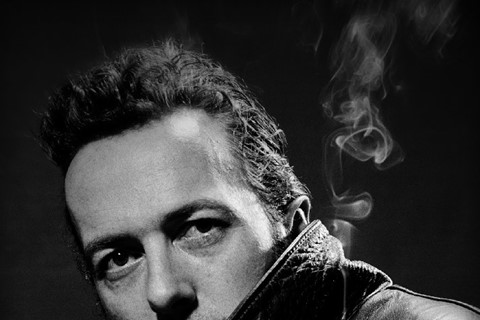 Joe Strummer, 1989 © Steve Double