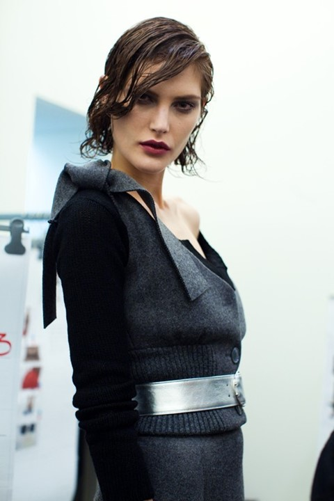 Catherine McNeil at Prada by Luca Campri