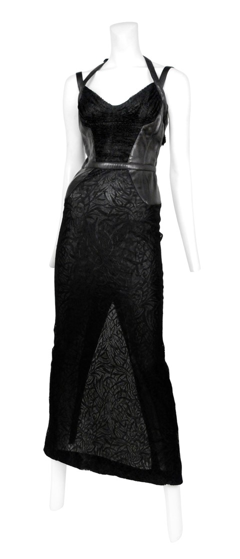 Gianni Versace Stretch Lace Dress from Resurrectio