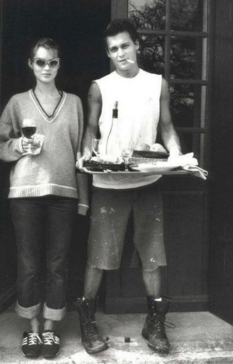 Kate Moss & Johnny Depp