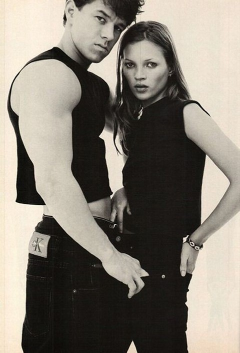 Kate Moss & Mark Wahlberg