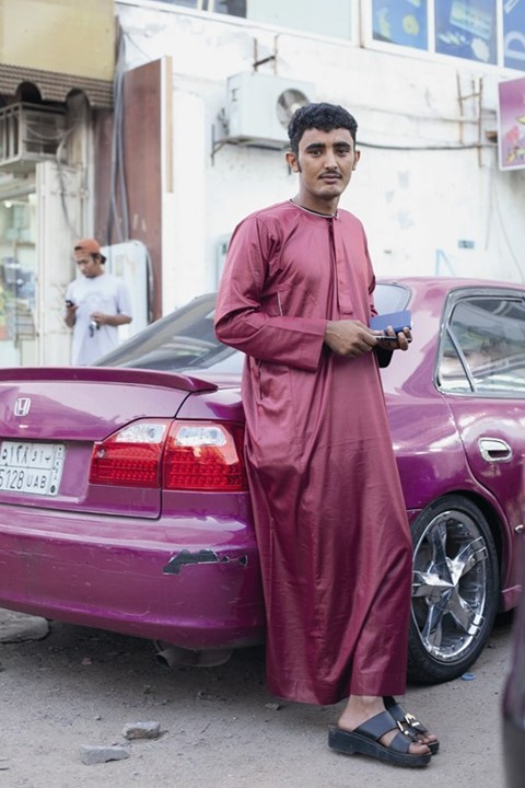 young man jeddah 2012