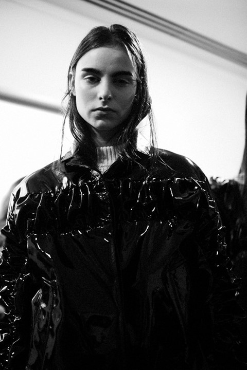 Christopher Kane bin bag ruching