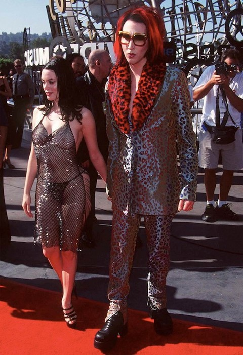 Rose McGowan & Marylin Manson