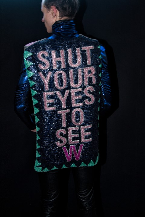 Walter Van Beirendonck 'Shut Your Eyes to See' AW13