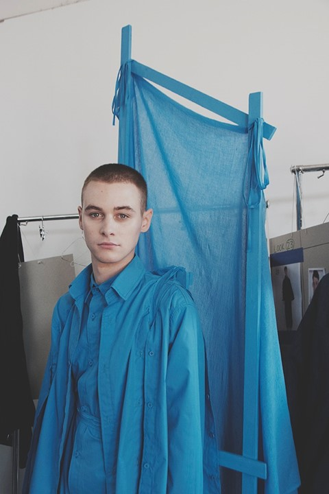 Craig Green SS15 LC:M Dazed backstage