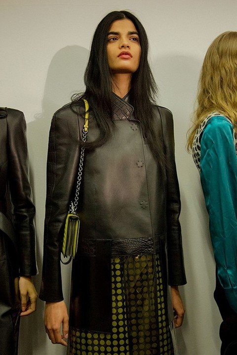 Bhumika Arora (Elite) at Bottega Veneta AW15,Dazed new faces