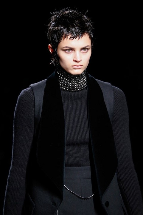 Isabella Emmack (Viva) at Alexander Wang AW15, Dazed Digital