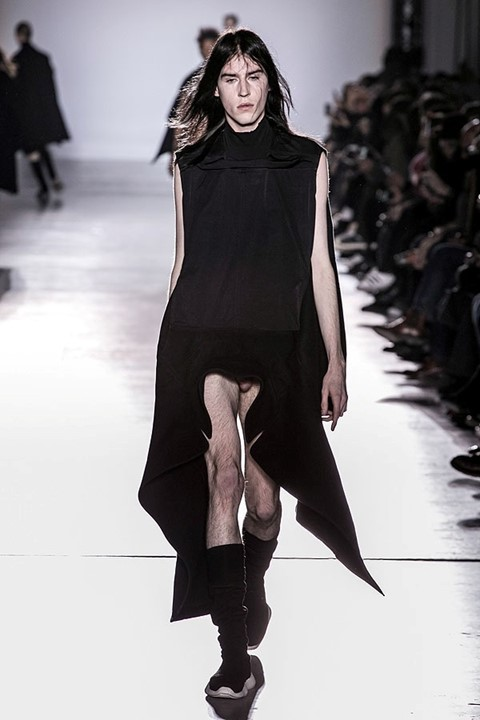 "Rick Owens AW15, ""Sphinx"", Dazed Digital"